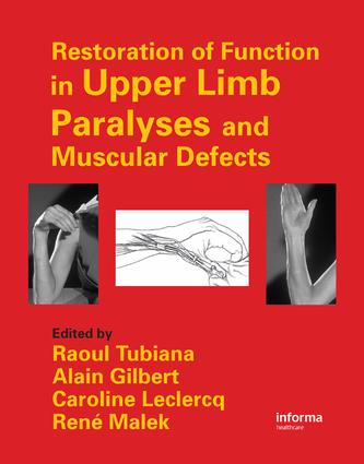 Surgical classifications of upper limb paralyses