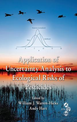 Application of Uncertainty Analysis to Ecological Risks of Pesticides: 1st Edition (e-Book) book cover