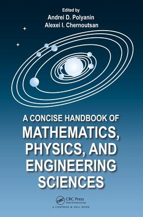 A Concise Handbook of Mathematics, Physics, and Engineering Sciences: 1st Edition (e-Book) book cover