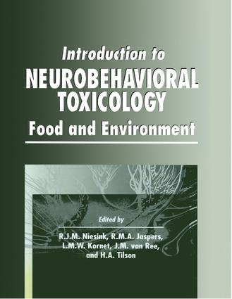 Introduction to Neurobehavioral Toxicology: Food and Environment, 1st Edition (Hardback) book cover