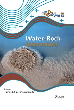Water-Rock Interaction XIII: 1st Edition (Hardback) book cover