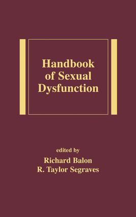 Handbook of Sexual Dysfunction: 1st Edition (e-Book) book cover
