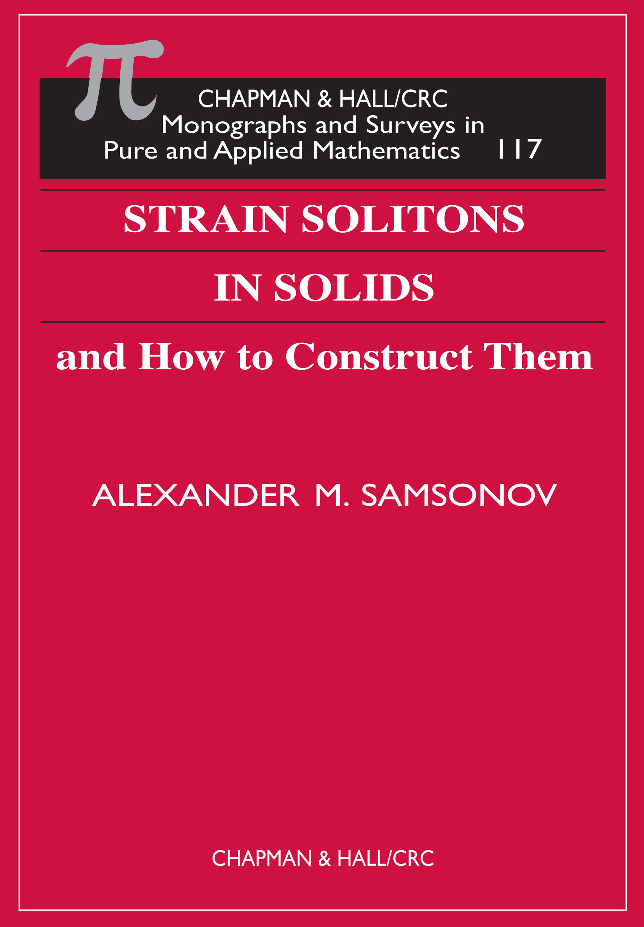 Strain Solitons in Solids; How to Construct Them