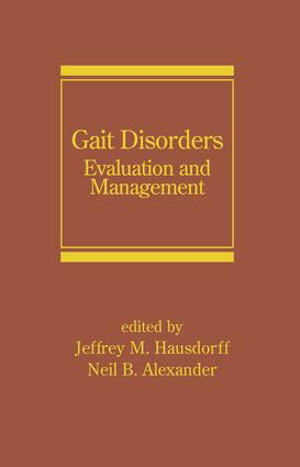 Gait Disorders: Evaluation and Management, 1st Edition (Hardback) book cover