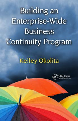 Building an Enterprise-Wide Business Continuity Program: 1st Edition (e-Book) book cover