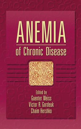Anemia of Chronic Disease book cover