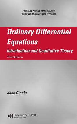 Ordinary Differential Equations: Introduction and Qualitative Theory, Third Edition, 3rd Edition (e-Book) book cover
