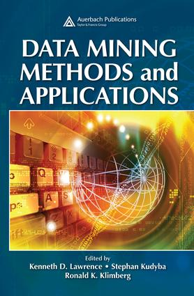 Data Mining Methods and Applications: 1st Edition (e-Book) book cover