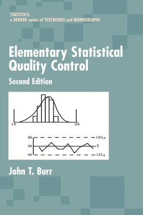 Elementary Statistical Quality Control: 2nd Edition (e-Book) book cover