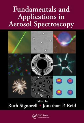 Fundamentals and Applications in Aerosol Spectroscopy: 1st Edition (e-Book) book cover