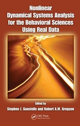 Nonlinear Dynamical Systems Analysis for the Behavioral Sciences Using Real Data: 1st Edition (e-Book) book cover