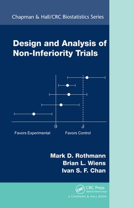 Design and Analysis of Non-Inferiority Trials: 1st Edition (e-Book) book cover