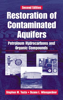 Restoration of Contaminated Aquifers: Petroleum Hydrocarbons and Organic Compounds, Second Edition, 2nd Edition (e-Book) book cover