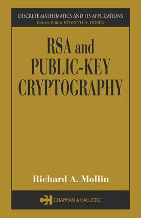 RSA and Public-Key Cryptography: 1st Edition (e-Book) book cover