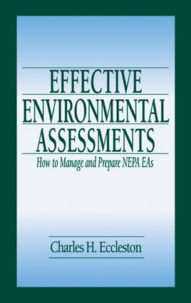 Effective Environmental Assessments: How to Manage and Prepare NEPA EAs, 1st Edition (e-Book) book cover