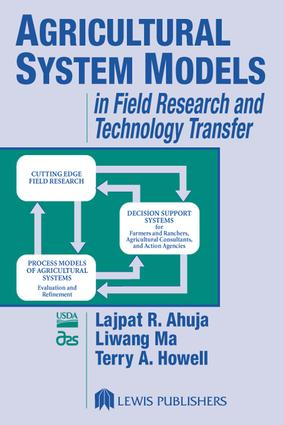 Agricultural System Models in Field Research and Technology Transfer: 1st Edition (e-Book) book cover