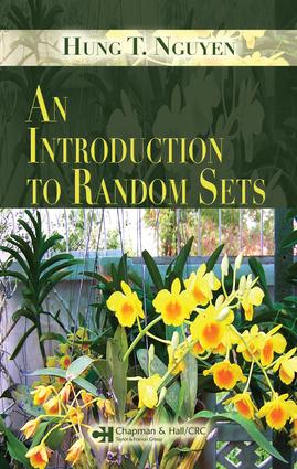 An Introduction to Random Sets: 1st Edition (e-Book) book cover