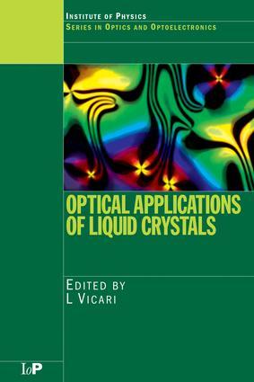 Optical Applications of Liquid Crystals: 1st Edition (e-Book) book cover