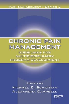 Who Can Help Me? A Chronic Pain Patient's View of Multidisciplinary Treatment