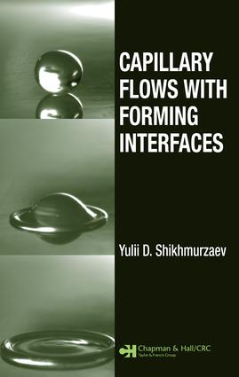 Capillary Flows with Forming Interfaces
