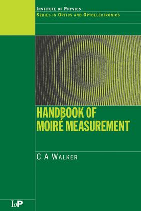 Handbook of Moiré Measurement