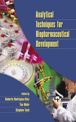 Analytical Techniques for Biopharmaceutical Development: 1st Edition (Hardback) book cover