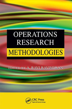 Operations Research Methodologies: 1st Edition (e-Book) book cover