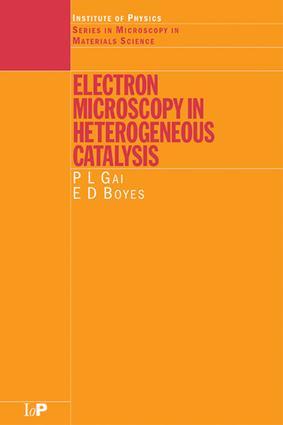 Electron Microscopy in Heterogeneous Catalysis: 1st Edition (e-Book) book cover
