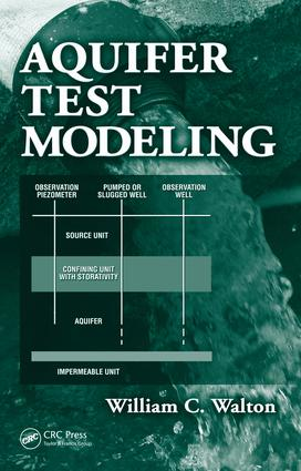 Aquifer Test Modeling: 1st Edition (e-Book) book cover