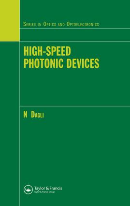 High-Speed Photonic Devices: 1st Edition (e-Book) book cover