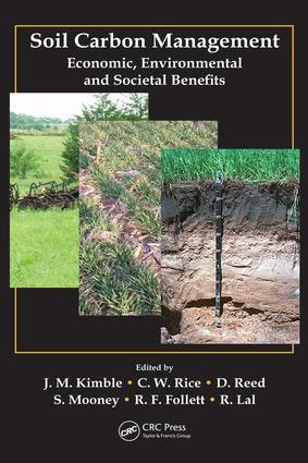 Soil Carbon Management: Economic, Environmental and Societal Benefits, 1st Edition (e-Book) book cover