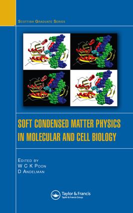 Soft Condensed Matter Physics in Molecular and Cell Biology