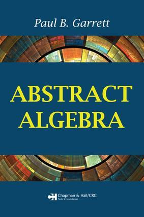 Abstract Algebra: 1st Edition (e-Book) book cover