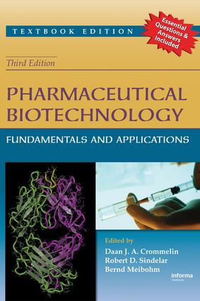 Pharmaceutical Biotechnology: Fundamentals and Applications, Third Edition, 3rd Edition (Paperback) book cover