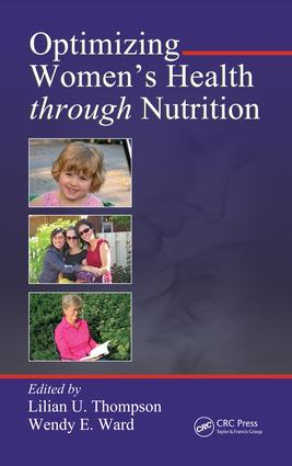 Optimizing Women's Health through Nutrition: 1st Edition (e-Book) book cover