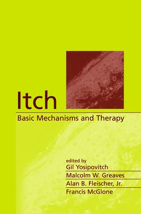 Itch: Basic Mechanisms and Therapy, 1st Edition (Hardback) book cover
