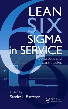 Lean Six Sigma in Service: Applications and Case Studies, 1st Edition (e-Book) book cover