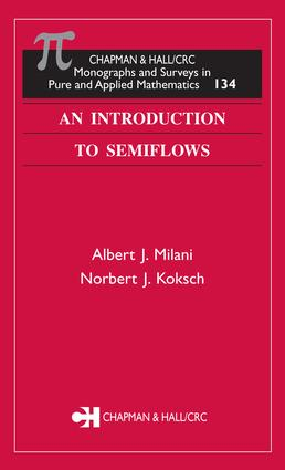 An Introduction to Semiflows: 1st Edition (e-Book) book cover