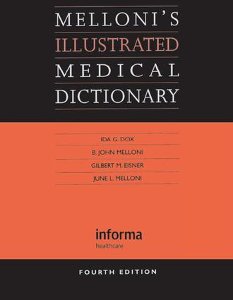 Melloni's Illustrated Medical Dictionary: 4th Edition (e-Book) book cover
