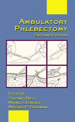 Ambulatory Phlebectomy: 2nd Edition (Hardback) book cover