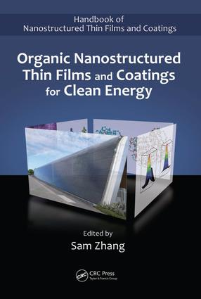 Organic Nanostructured Thin Film Devices and Coatings for Clean Energy: 1st Edition (e-Book) book cover