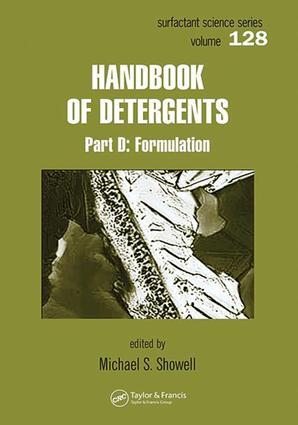 Handbook of Detergents Series