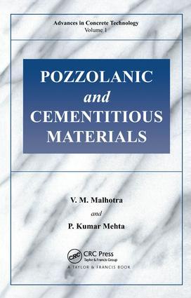Pozzolanic and Cementitious Materials: 1st Edition (e-Book) book cover