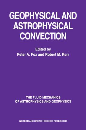 Geophysical & Astrophysical Convection: 1st Edition (Hardback) book cover