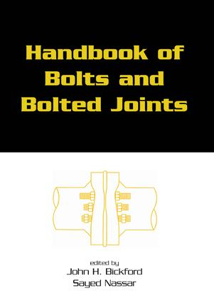 Handbook of Bolts and Bolted Joints: 1st Edition (Hardback) book cover