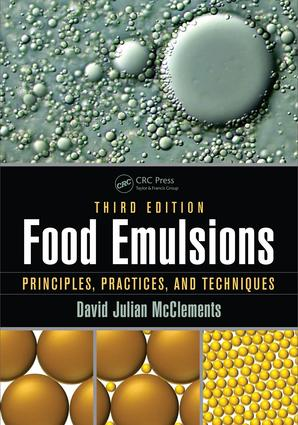 Food Emulsions: Principles, Practices, and Techniques, Third Edition, 3rd Edition (e-Book) book cover