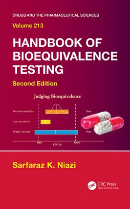Handbook of Bioequivalence Testing: 2nd Edition (e-Book) book cover