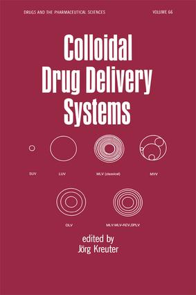 Colloidal Drug Delivery Systems: 1st Edition (Hardback) book cover