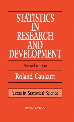 Statistics in Research and Development