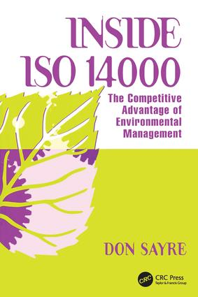 INSDE ISO 14000: The Competitive Advantage of Environmental Management book cover